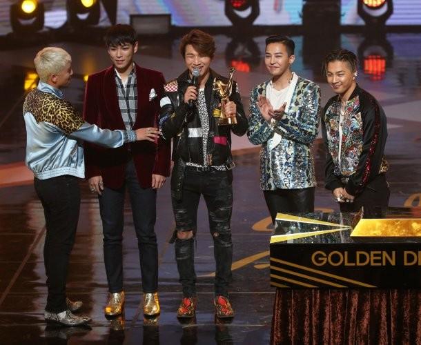 Big Bang 3 lần lên nhận giải tại Golden Disk 2016 - ảnh 1