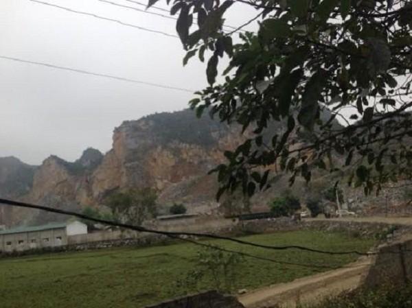 Thanh Hóa: Sập mỏ đá, 7 người bị vùi lấp  - ảnh 1