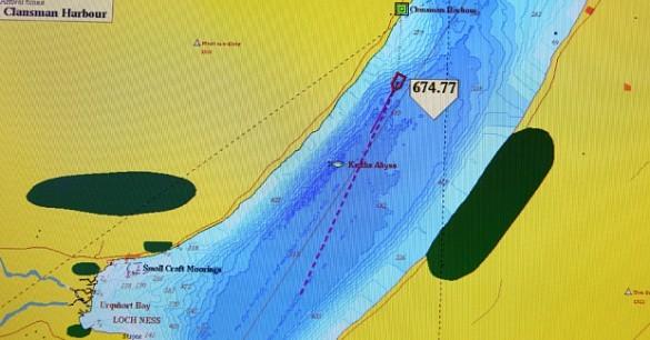 Phát hiện rãnh sâu nghi là hang ổ của quái vật hồ Loch Ness - ảnh 4