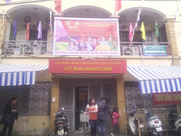 Hà Nội: Phản cảm hình ảnh bếp núc trong trụ sở UBND phường - ảnh 2