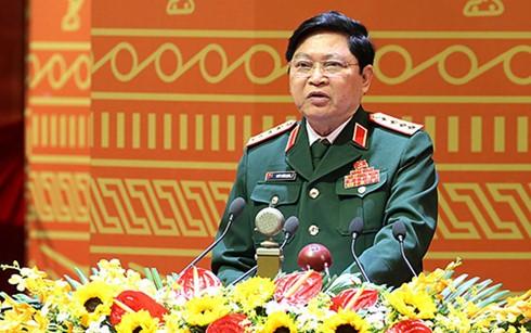 Đại tướng Ngô Xuân Lịch: Phải lo bảo vệ Tổ quốc từ lúc chưa nguy - ảnh 1