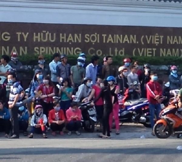 Đồng Nai: Gần Tết, 4000 công nhân lại 'đình công'  - ảnh 1