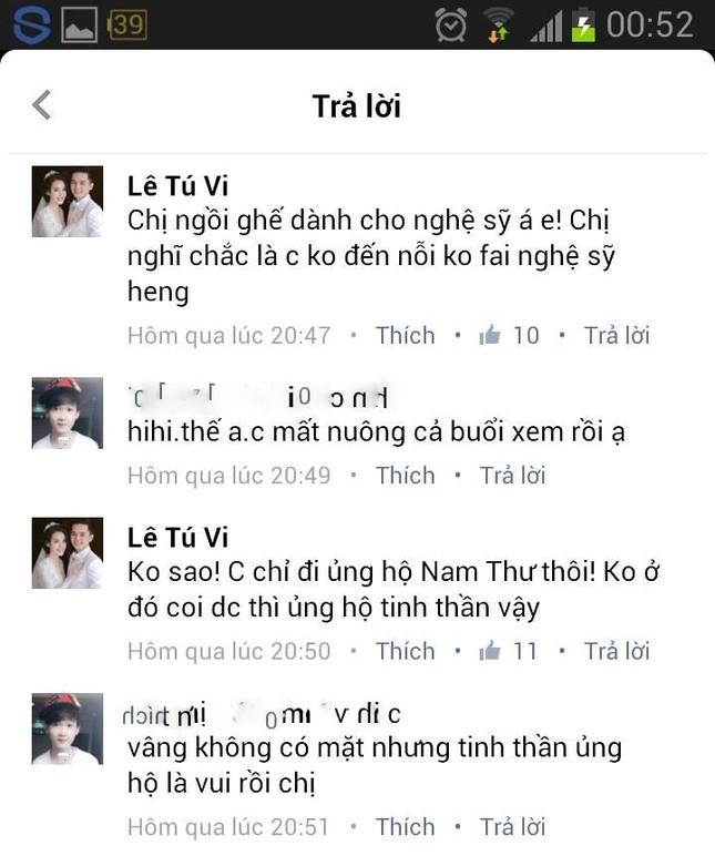 Tú Vi - Văn Anh bị đuổi khi đến xem chương trình Cười Xuyên Việt  - ảnh 3