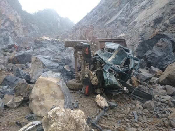 Công bố danh sách 8 người thương vong vụ sập mỏ đá ở Thanh Hóa - ảnh 2