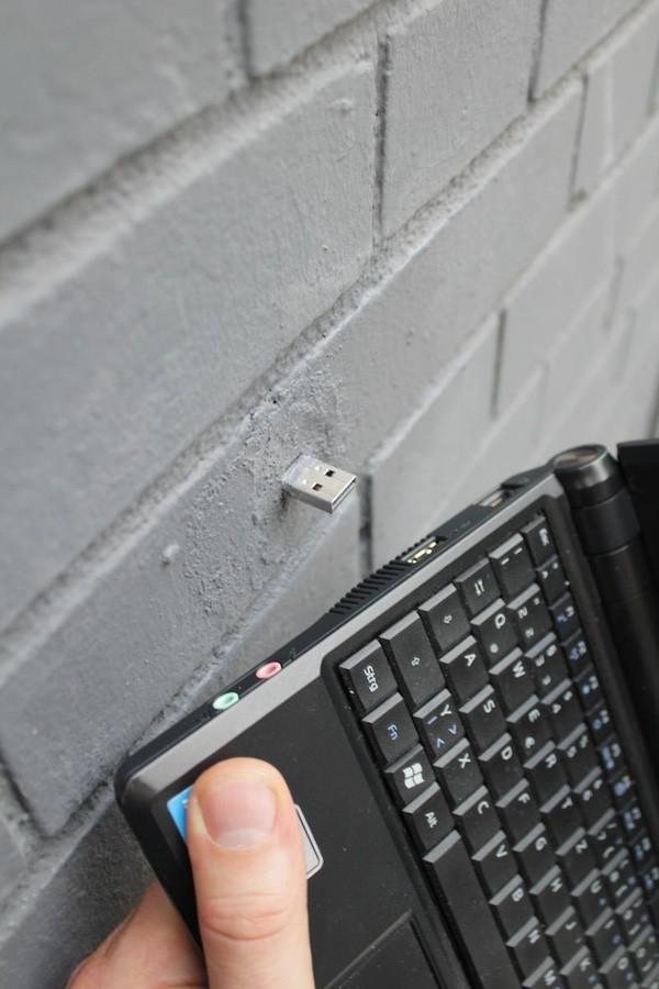 Bí ẩn những chiếc USB gắn trên các bức tường khắp thế giới - ảnh 3