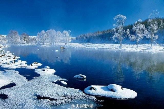 Trung Quốc lạnh đến nỗi hắt nước sôi cũng hóa băng - ảnh 7