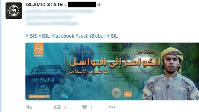 IS lợi dụng Justin Bieber để tuyển tân binh - ảnh 2