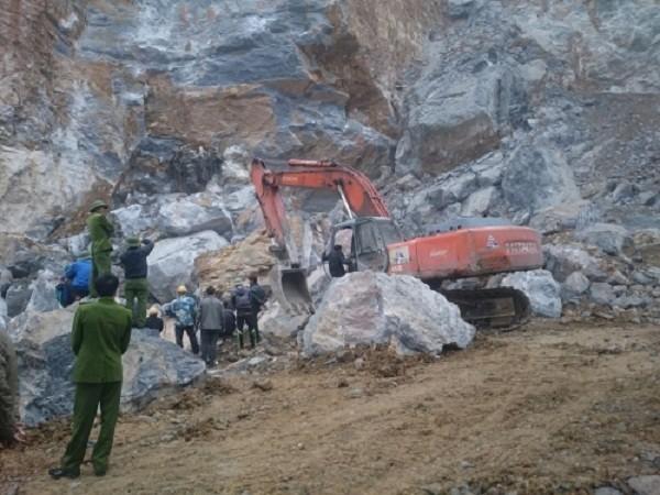 Công bố danh sách 8 người thương vong vụ sập mỏ đá ở Thanh Hóa - ảnh 1