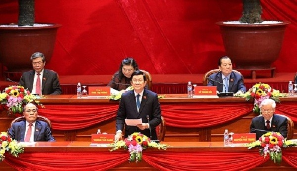 Ngày 23/01, Đại hội nghe báo cáo về công tác nhân sự - ảnh 1