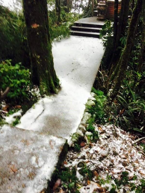 Sau Sa Pa, Mẫu Sơn, Hà Nội cũng có tuyết rơi ? - ảnh 4