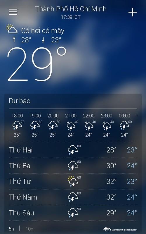 2 ứng dụng thời tiết tốt nhất cho bạn trong mùa đông giá lạnh - ảnh 3
