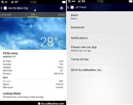 2 ứng dụng thời tiết tốt nhất cho bạn trong mùa đông giá lạnh - ảnh 2