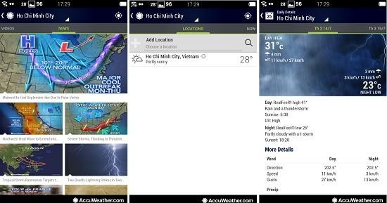 2 ứng dụng thời tiết tốt nhất cho bạn trong mùa đông giá lạnh - ảnh 1