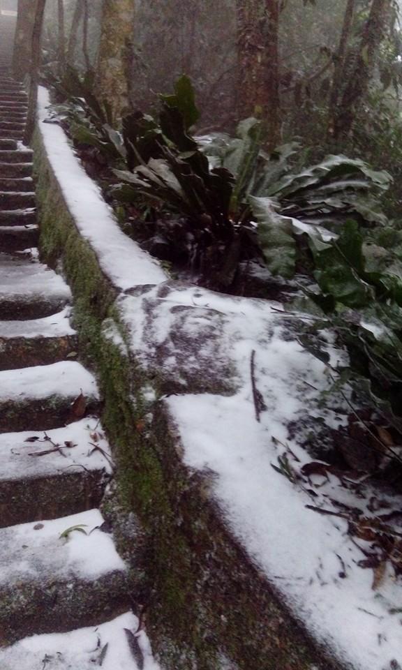Chùm ảnh băng tuyết lần đầu tiên trong lịch sử ở Hà Nội - ảnh 1