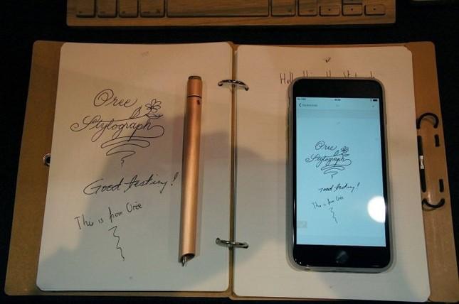 'Bút thần' Stylograph viết gì trên giấy, trên iPhone có hình đó - ảnh 1