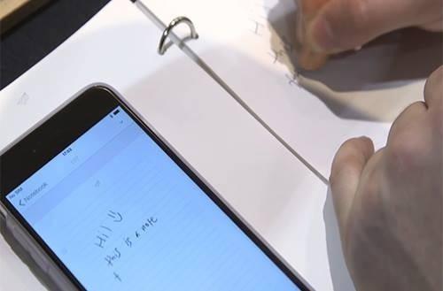 'Bút thần' Stylograph viết gì trên giấy, trên iPhone có hình đó - ảnh 2