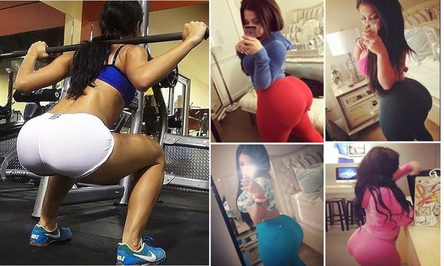 Kinh hoàng thiếu nữ đang tập gym thì 'nổ tung' vòng 3 - ảnh 3