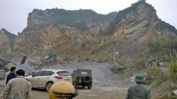 Vụ sập mỏ đá ở Thanh Hóa: Cả 8 nạn nhân đều tử vong - ảnh 1