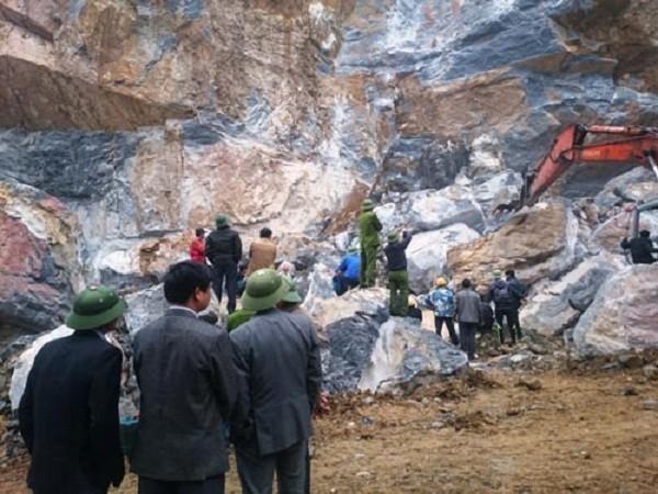 Vụ sập mỏ đá 8 người gặp nạn ở Thanh Hóa: Ai chịu trách nhiệm? - ảnh 1