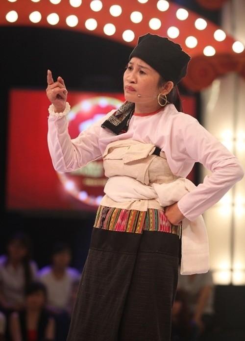 Cô gái dân tộc Lê Thị Dần thất bại ở Gala 2 thách thức danh hài - ảnh 3