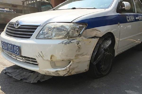 Truy tìm thanh niên trộm xe ôtô của cảnh sát giao thông - ảnh 1