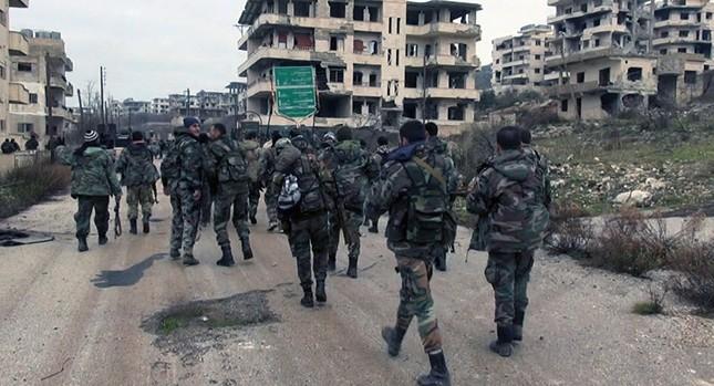 Quân đội Syria giải phóng thị trấn chiến lược ở Latakia - ảnh 1