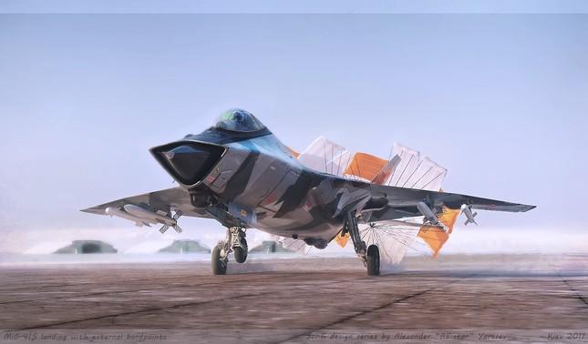 Chiến đấu cơ MiG-41 của Nga sẽ bay nhanh hơn tên lửa - ảnh 1