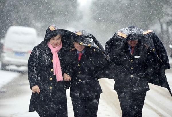 Trung tâm Hà Nội sẽ có tuyết rơi trong vài ngày tới? - ảnh 1