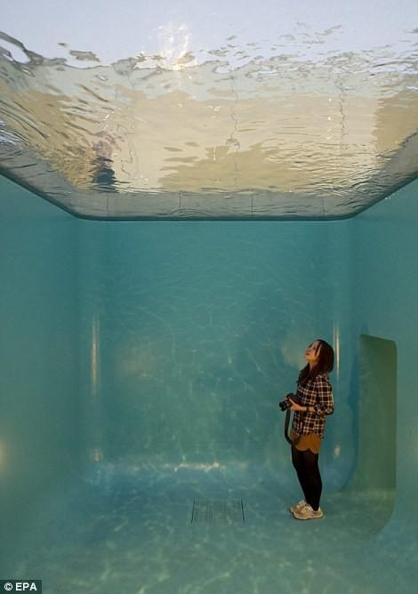 Có gì trong bể bơi ảo giác Nhật Bản và ngôi nhà kỳ quái ở Anh? - ảnh 3
