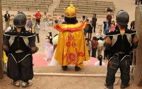 Độc đáo vương quốc toàn người lùn ở Trung Quốc - ảnh 5