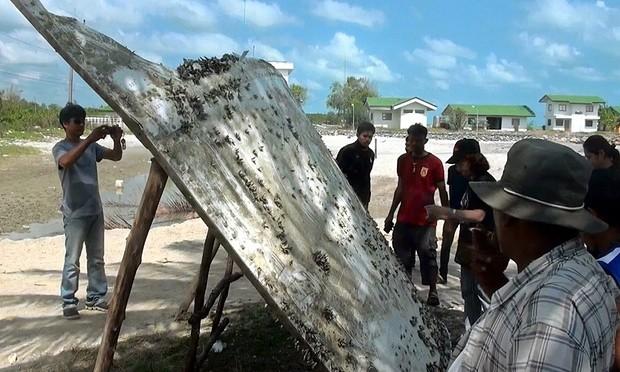 Mảnh vỡ nghi của MH370 rơi ở Thái Lan là rác thải? - ảnh 1