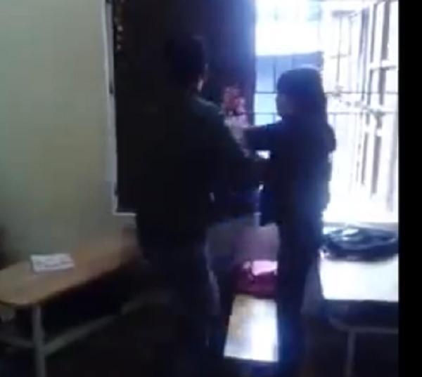 Bức xúc thanh niên đánh liên tiếp bạn gái vì nghi trộm điện thoại - ảnh 1