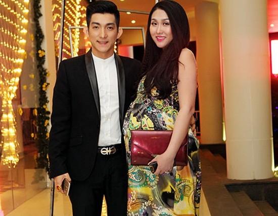 Phi Thanh Vân sắp sinh vẫn nhí nhảnh đi sự kiện - ảnh 1