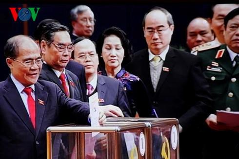 Hoàn tất bỏ phiếu bầu Ban Chấp hành Trung ương Khóa XII - ảnh 3