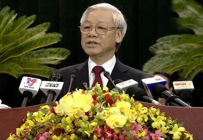 Tổng Bí thư Nguyễn Phú Trọng tái đắc cử với số phiếu cao - ảnh 1
