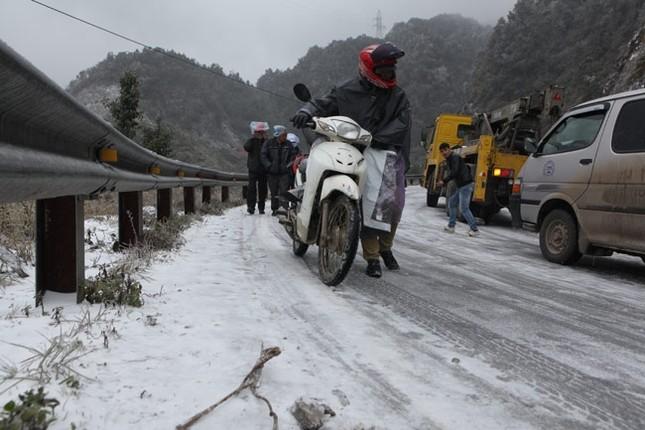 Ban hành quy tắc giao thông trong trời băng, tuyết - ảnh 1