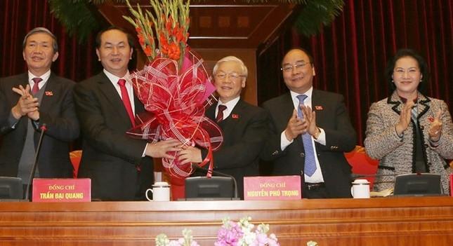 Tổng Bí thư Nguyễn Phú Trọng tái đắc cử - ảnh 1