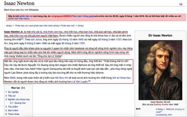 Trời càng lạnh, người Việt càng thích vào Wikipedia 'viết bậy' - ảnh 2