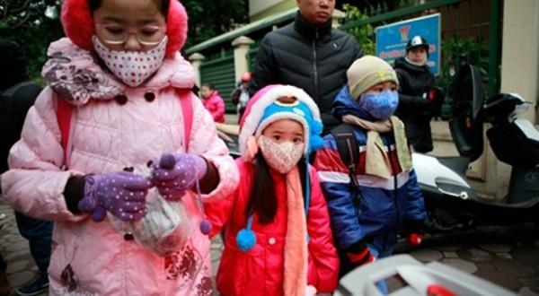 Học sinh tiểu học, mầm non Hà Nội tiếp tục được nghỉ do rét đậm - ảnh 1