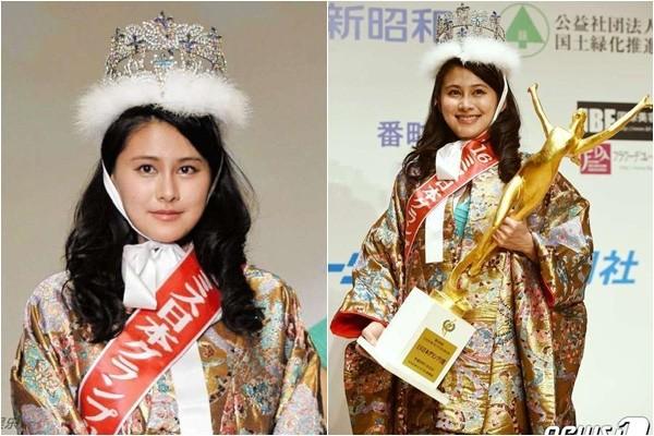 Tân hoa hậu Nhật Bản 2016 bị cư dân mạng 'ném đá' vì quá béo - ảnh 2