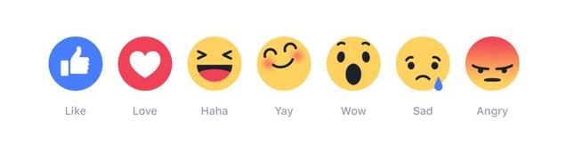 Facebook thử nghiệm nút 'yêu', 'buồn', 'giận' trong vài tuần tới - ảnh 1