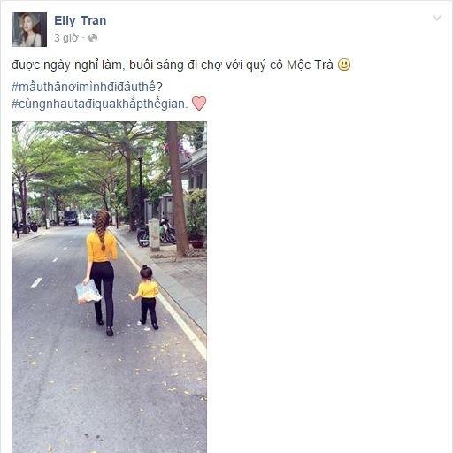 Fan thích thú với một ngày bận rộn của Elly Trần bên hai con - ảnh 3