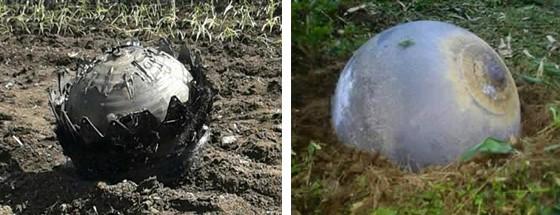Vật thể lạ rơi ở Tuyên Quang, Yên Bái có thể là rác vũ trụ - ảnh 1