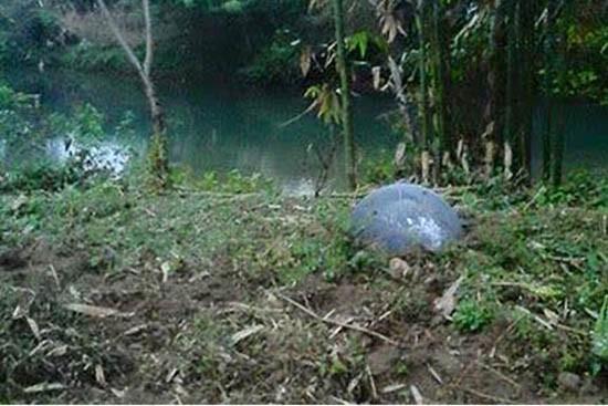 Kết luận ban đầu về 'vật thể lạ' rơi ở Tuyên Quang - ảnh 1
