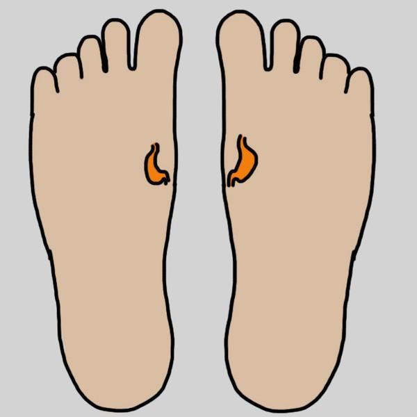 Bấm huyệt ở chân là một trong những cách chữa bệnh cực hay  - ảnh 9
