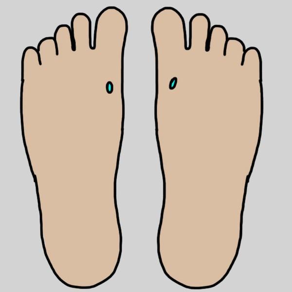 Bấm huyệt ở chân là một trong những cách chữa bệnh cực hay  - ảnh 10