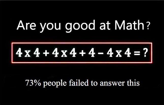 Bài toán tiểu học đơn giản làm Facebook 'dậy sóng'  - ảnh 1