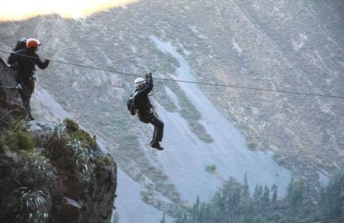 Đến Peru, thử cảm giác ngủ lơ lửng tại khách sạn trên vách núi - ảnh 3