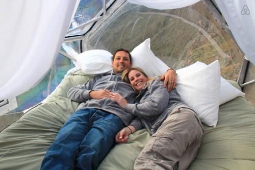 Đến Peru, thử cảm giác ngủ lơ lửng tại khách sạn trên vách núi - ảnh 2