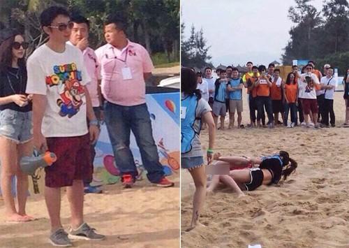 Thiếu gia Trung Quốc chơi trội mời 150 người mẫu đến dự sinh nhật - ảnh 1